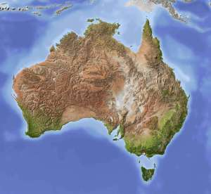 australia_shaded_relief_map_with_major_urban_areas